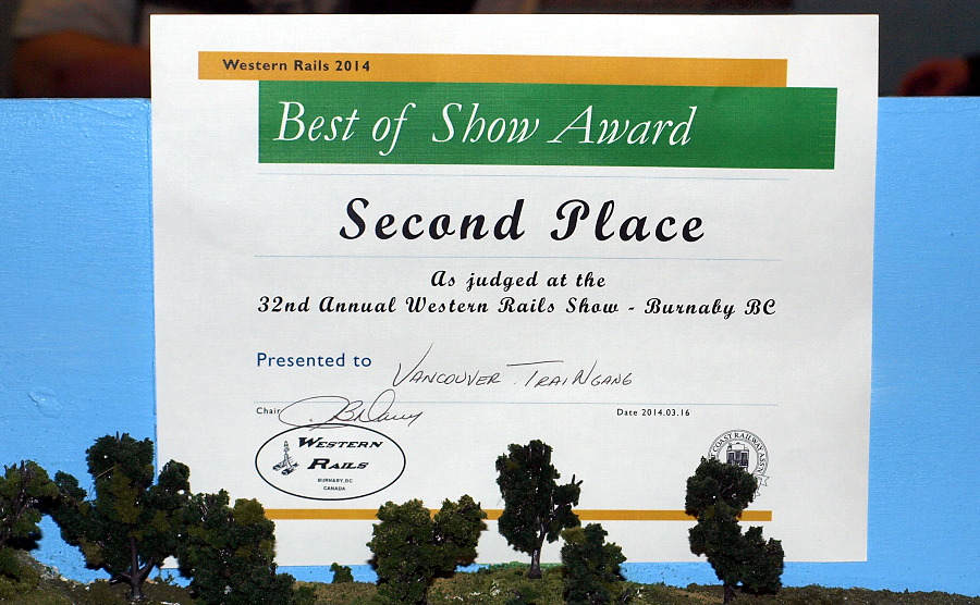 Second Place Best of Show Award